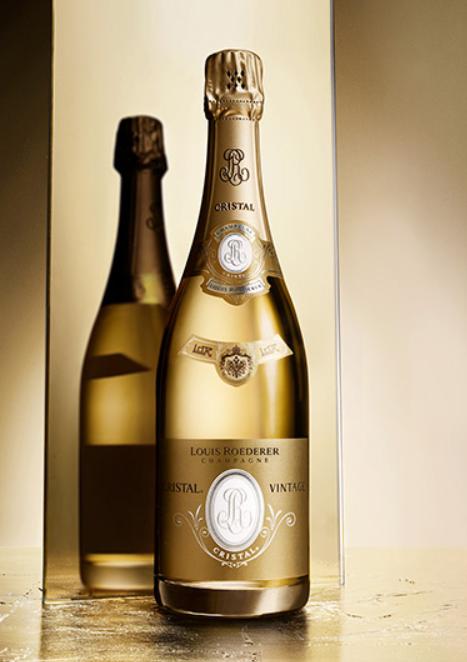 Cristal Champagne Louis Roederer Fles