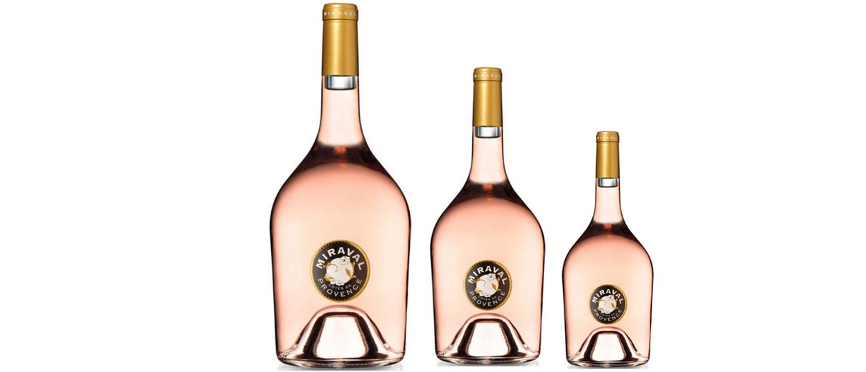 De Château Miraval Rosé-online Rosé van 'Brangelina'!