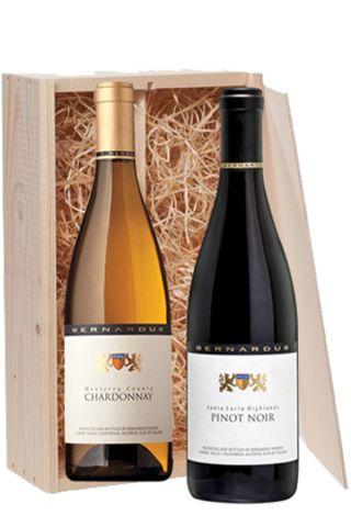 Bernardus Cadeaukist 2 fl. Chardonnay / Pinot Noir