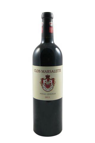 Clos Marsalette 2011