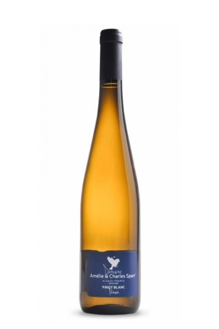 Domaine Amelie en Charles Sparr Pinot Blanc